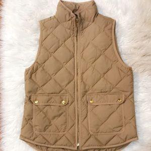 J. Crew vest sz medium